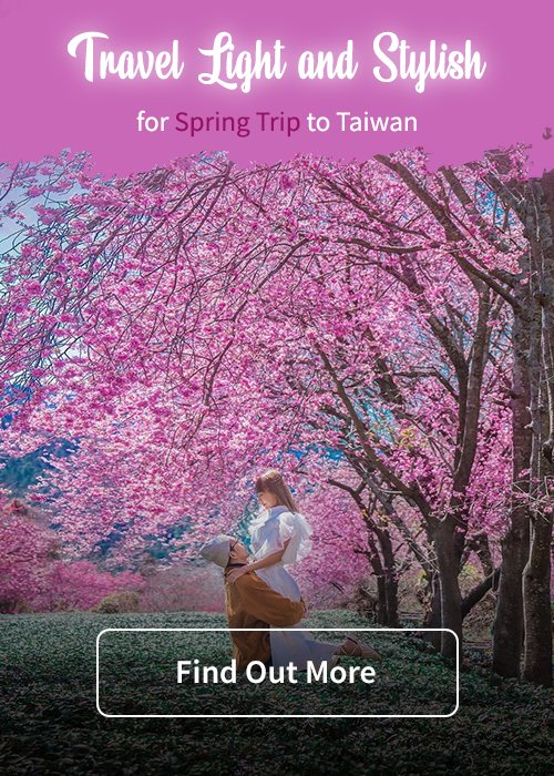 Travel Light and Stylish for Spring Trip to Taiwan
